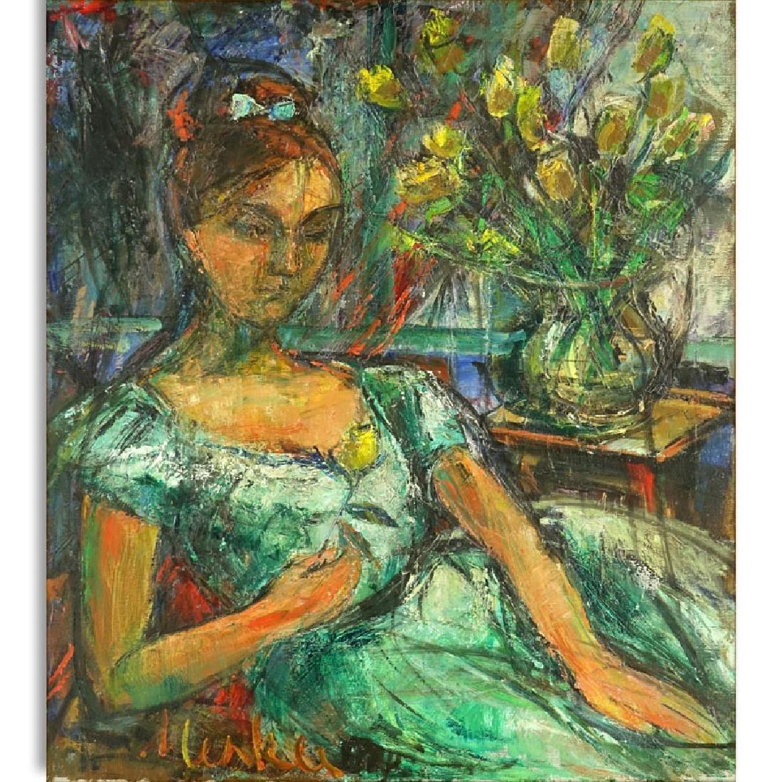 Attributed to: Sigmund Menkes, Polish (1896 - 1986) Oil