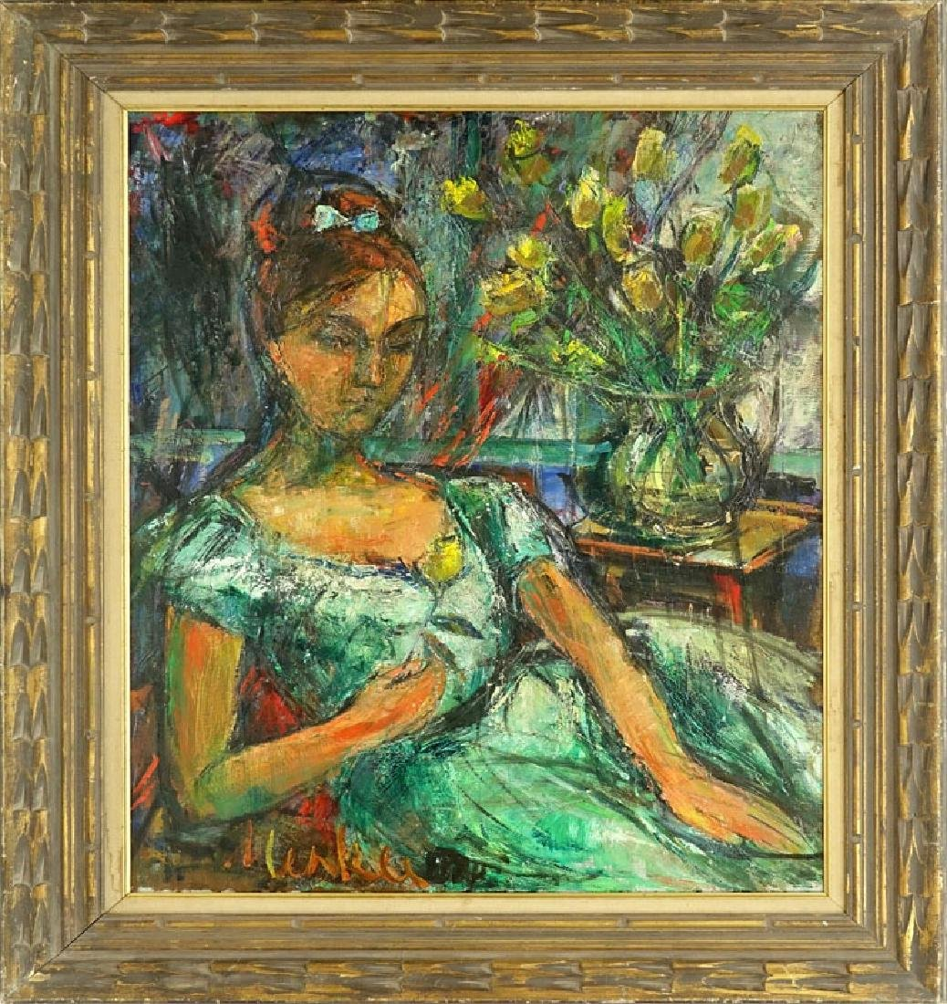Attributed to: Sigmund Menkes, Polish (1896 - 1986) Oil - 2