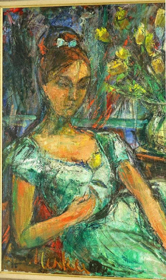 Attributed to: Sigmund Menkes, Polish (1896 - 1986) Oil - 3