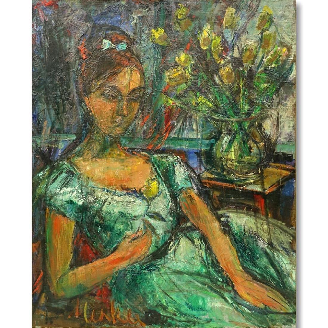 Attributed to: Sigmund Menkes, Polish (1896 - 1986) Oil - 6