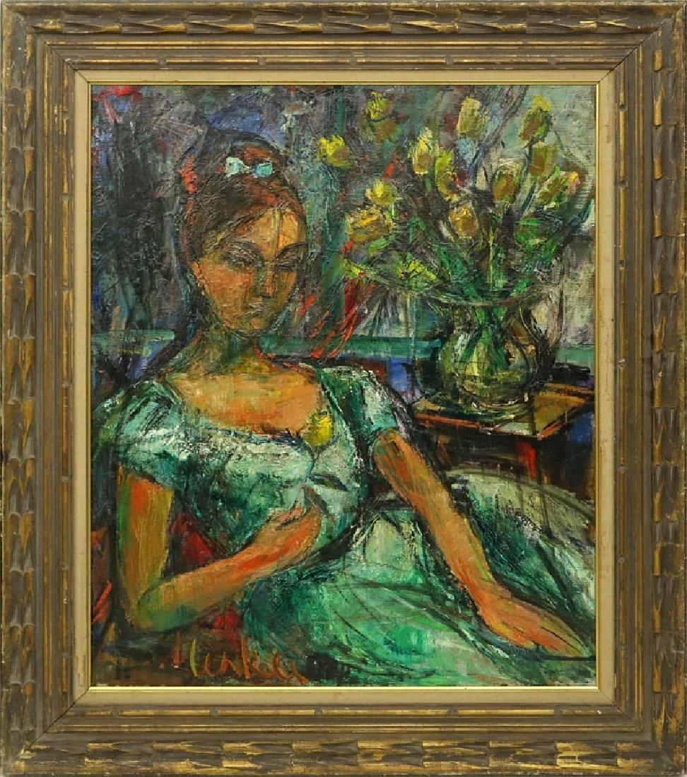 Attributed to: Sigmund Menkes, Polish (1896 - 1986) Oil - 7
