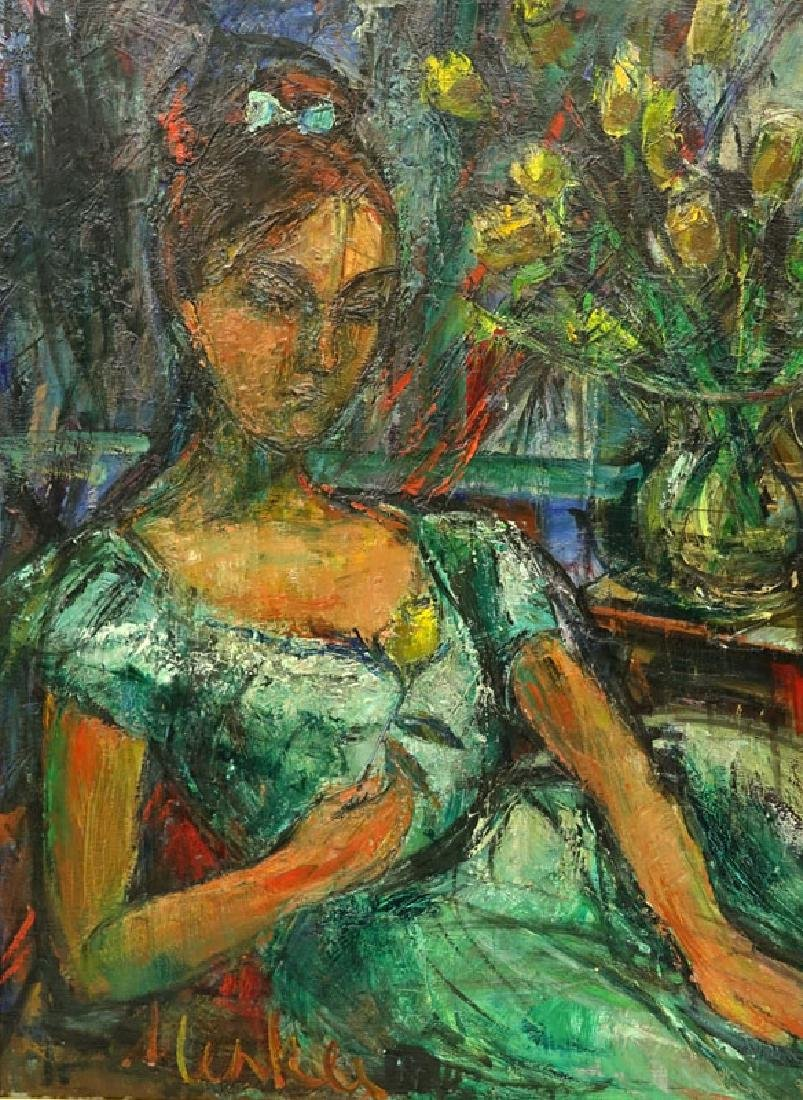 Attributed to: Sigmund Menkes, Polish (1896 - 1986) Oil - 8