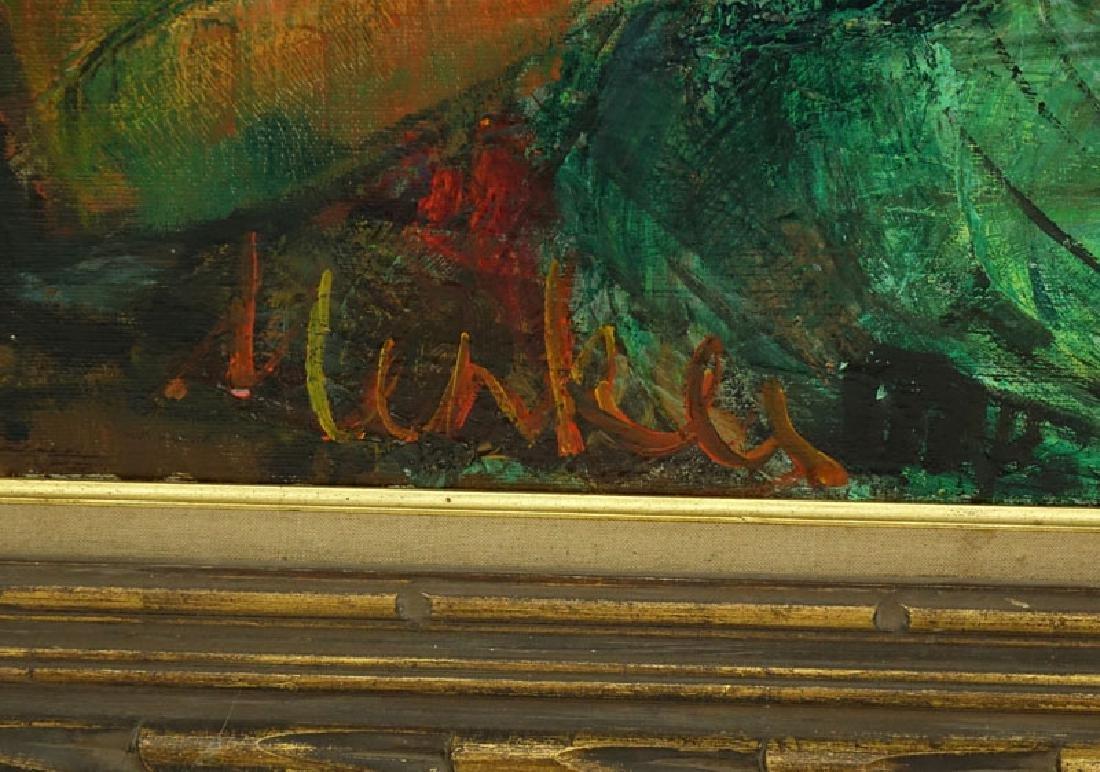 Attributed to: Sigmund Menkes, Polish (1896 - 1986) Oil - 9
