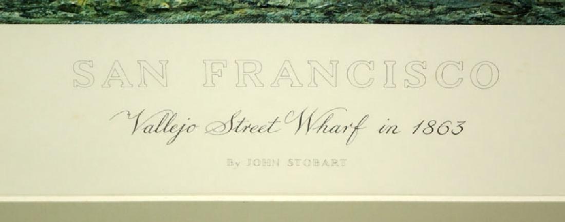 "John Stobart, American (b. 1929) Color Lithograph ""San - 3"