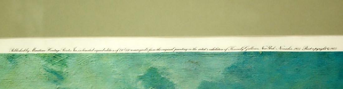 "John Stobart, American (b. 1929) Color Lithograph ""San - 5"