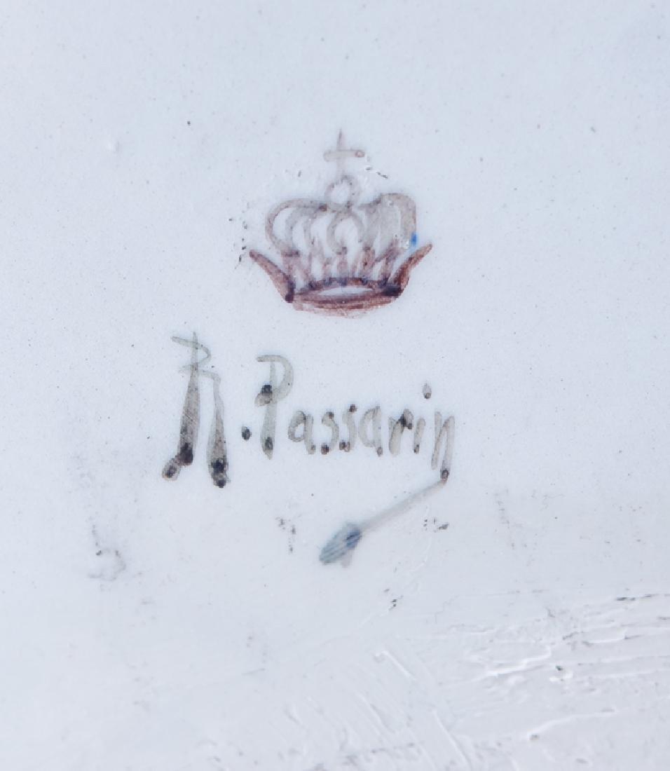 18/19th Century Italian Faience Tabletop Armoire. - 8
