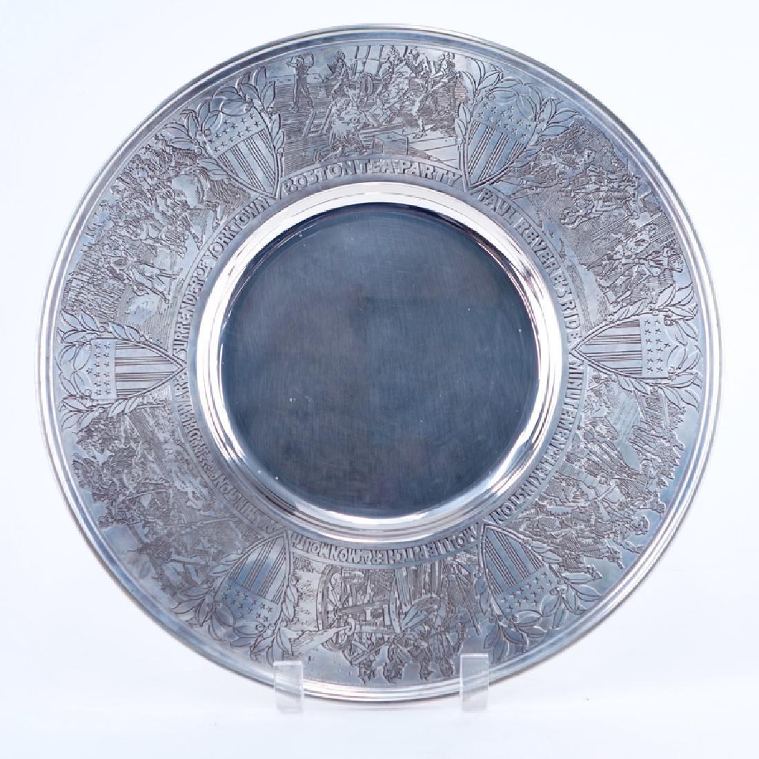Gorham Sterling Silver 1972 Bicentennial Commemorative