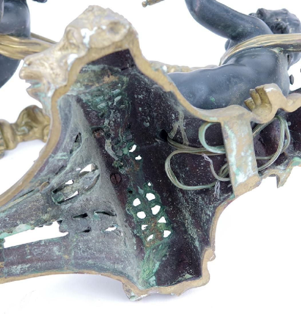 Pair of 19/20th Century Louis XVI Style Gilt Bronze - 4