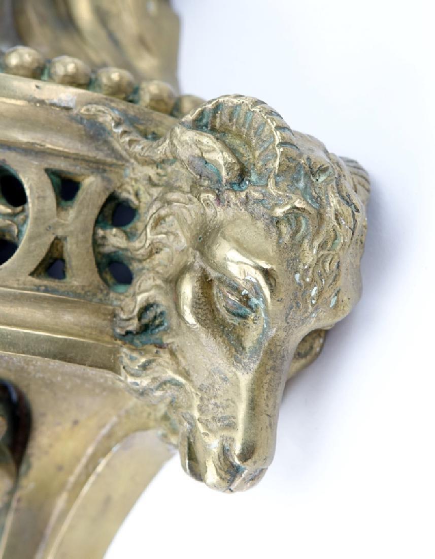Pair of 19/20th Century Louis XVI Style Gilt Bronze - 7