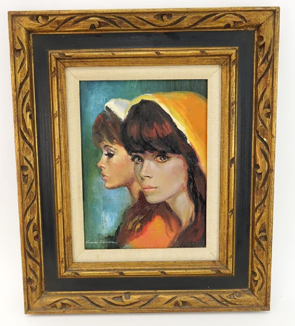 Sandu Liberman, Romanian (1923 - 1977) Oil on Canvas - 2