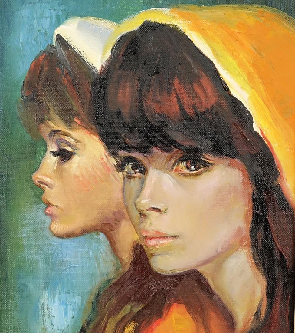 Sandu Liberman, Romanian (1923 - 1977) Oil on Canvas - 4