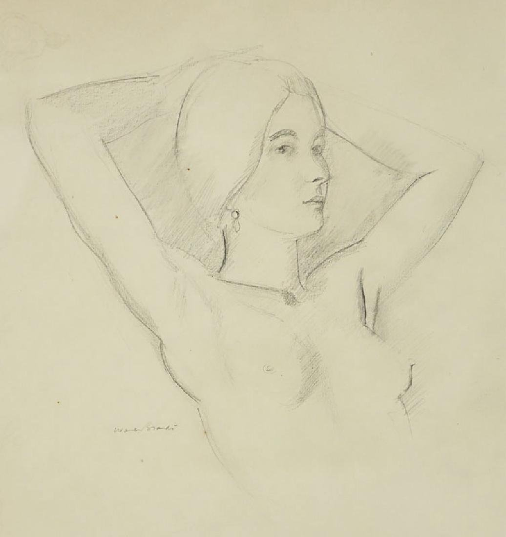 Warren Brandt, American (1918 - 2002) Drawing on paper - 5