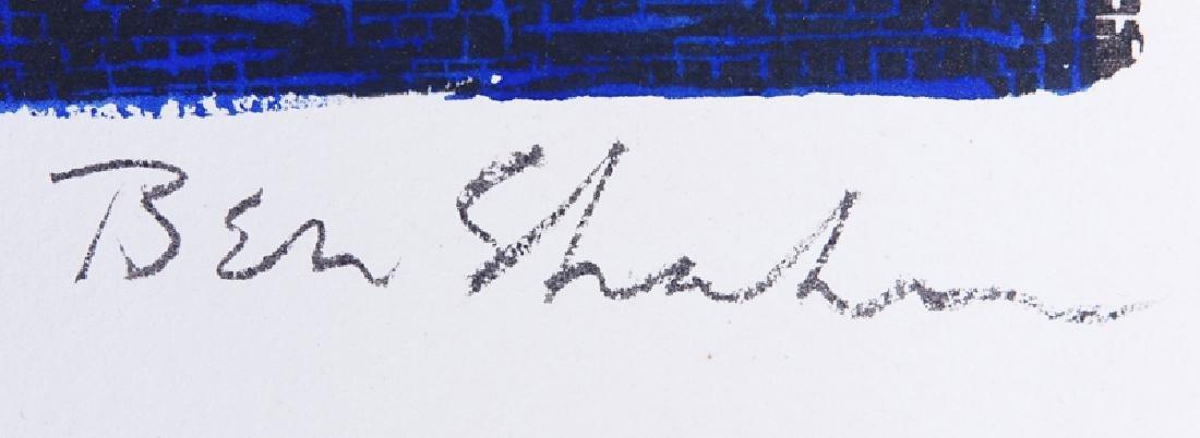 Ben Shahn, American (1898-1969) Screenprint with - 3