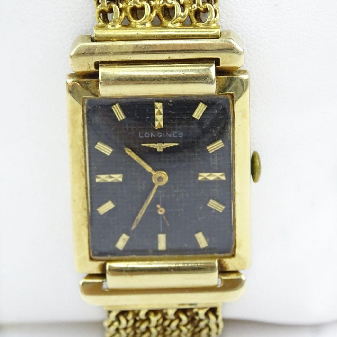 Men's Vintage Longines 14 Karat Yellow Gold Watch with