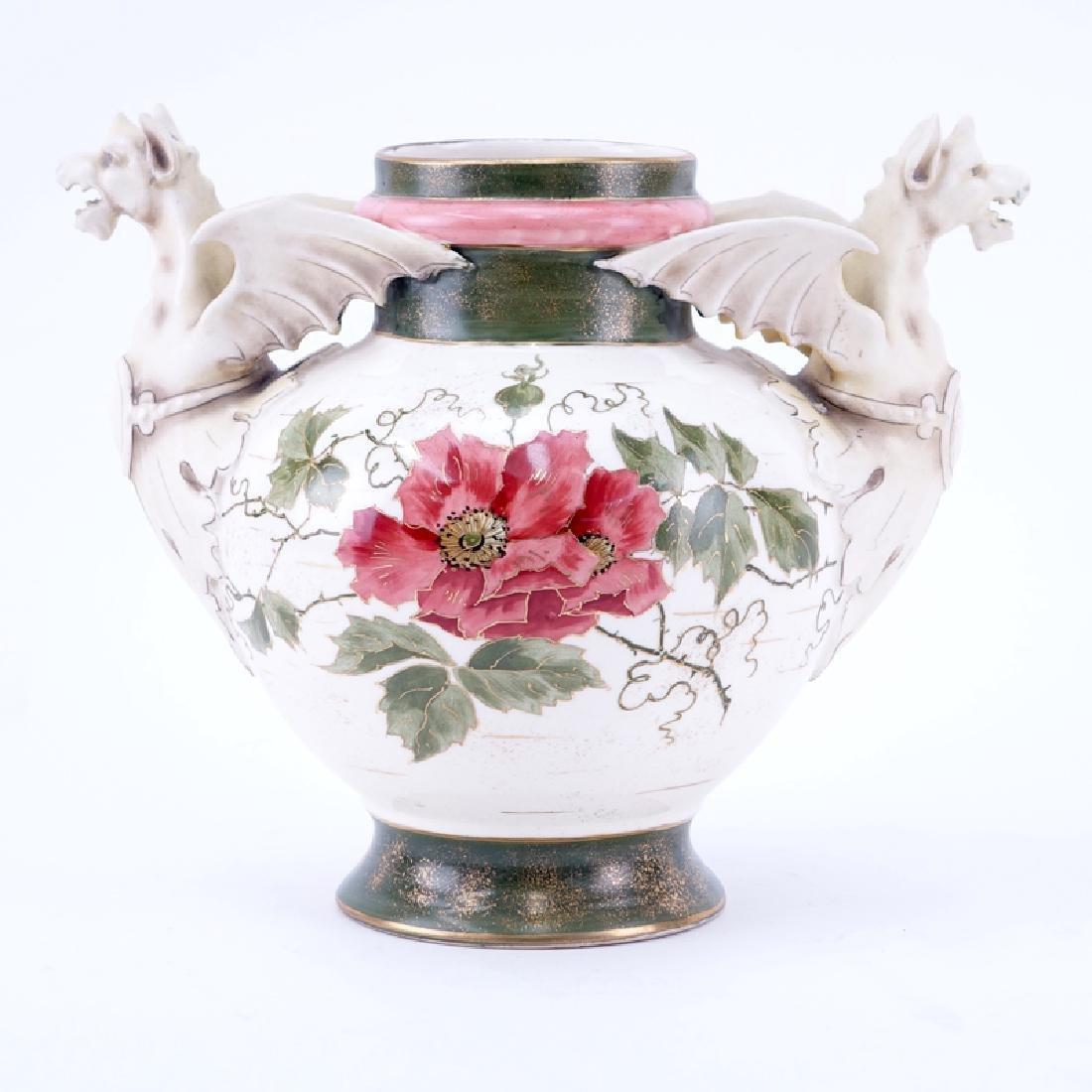 Antique Amphora Alfred Stellmacher Turn Teplitz