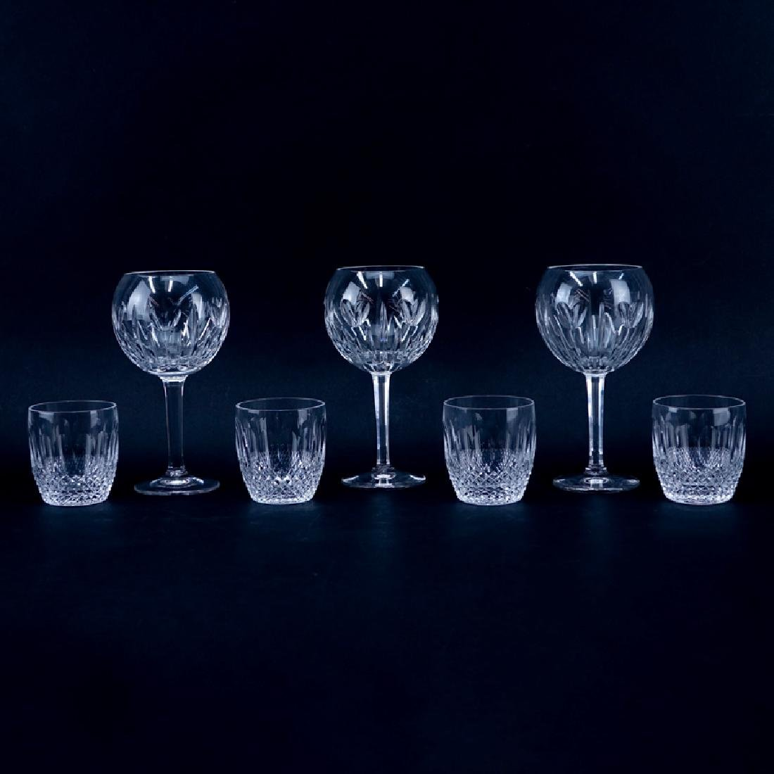 Collection of Seven (7) Waterford Crystal Toasting