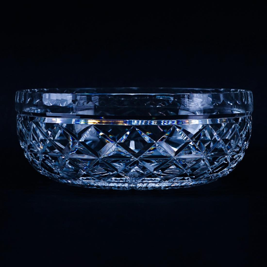 Waterford Cut Crystal Bowl. Signed. Good condition.