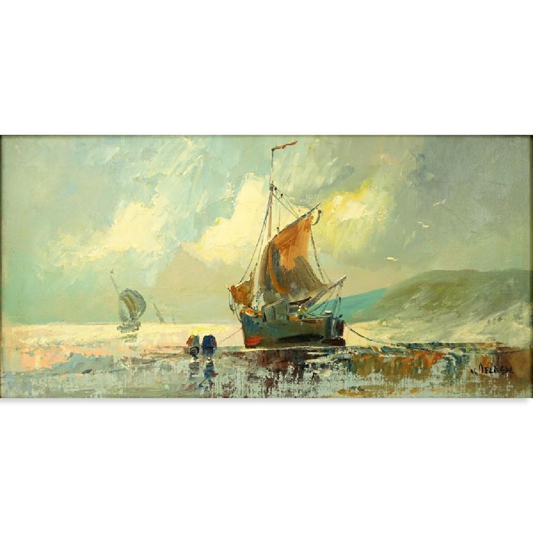 Jan Van Delden, Dutch (early 20th century) Oil on