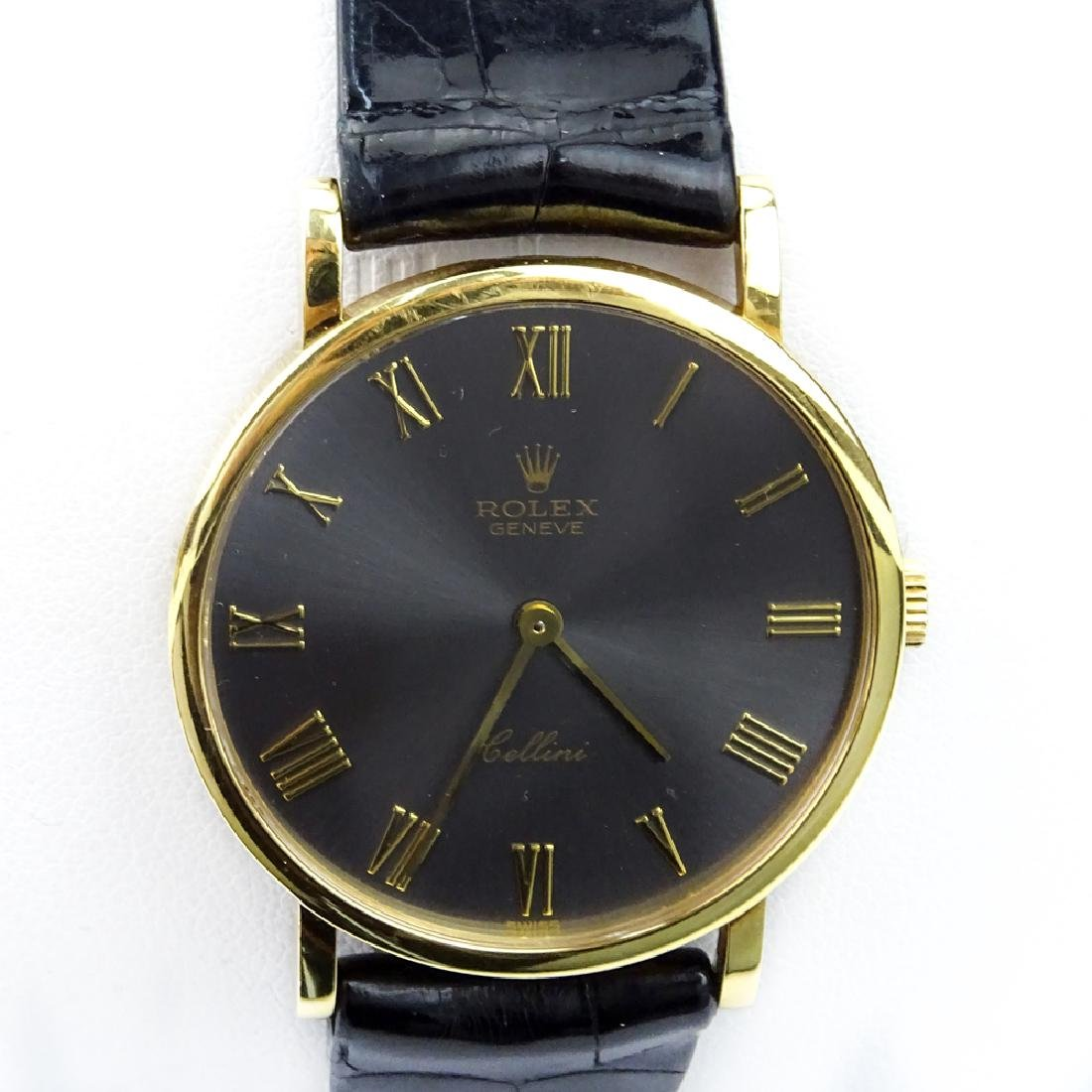 Vintage Rolex Cellini Classic 18 Karat Yellow Gold