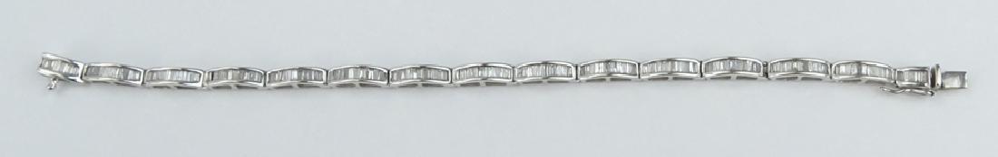 Vintage Approx. 3.50 Carat TW Baguette Cut Diamond and - 4