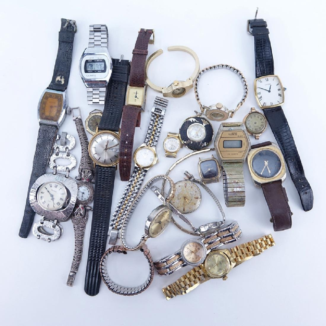 Collection of Vintage Watches, Pocket Watches, and