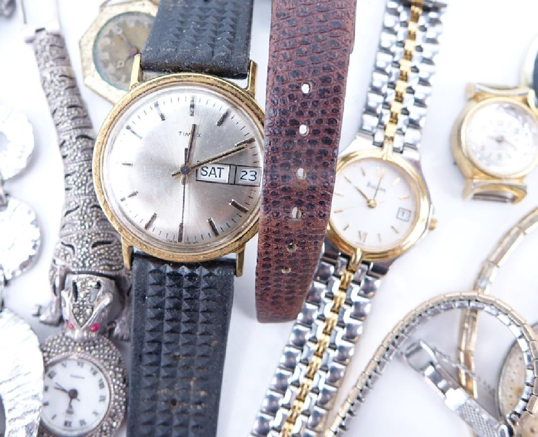 Collection of Vintage Watches, Pocket Watches, and - 3