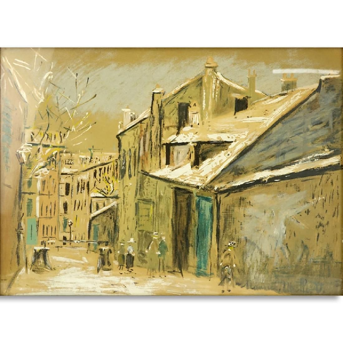 After: Maurice (Valadon) Utrillo, French (1883 - 1955)