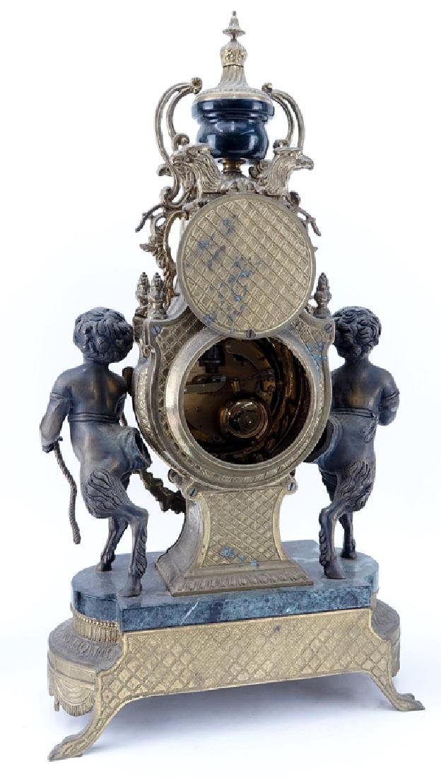 19/20th Century Empire Style Gilt Bronze and Marble - 2
