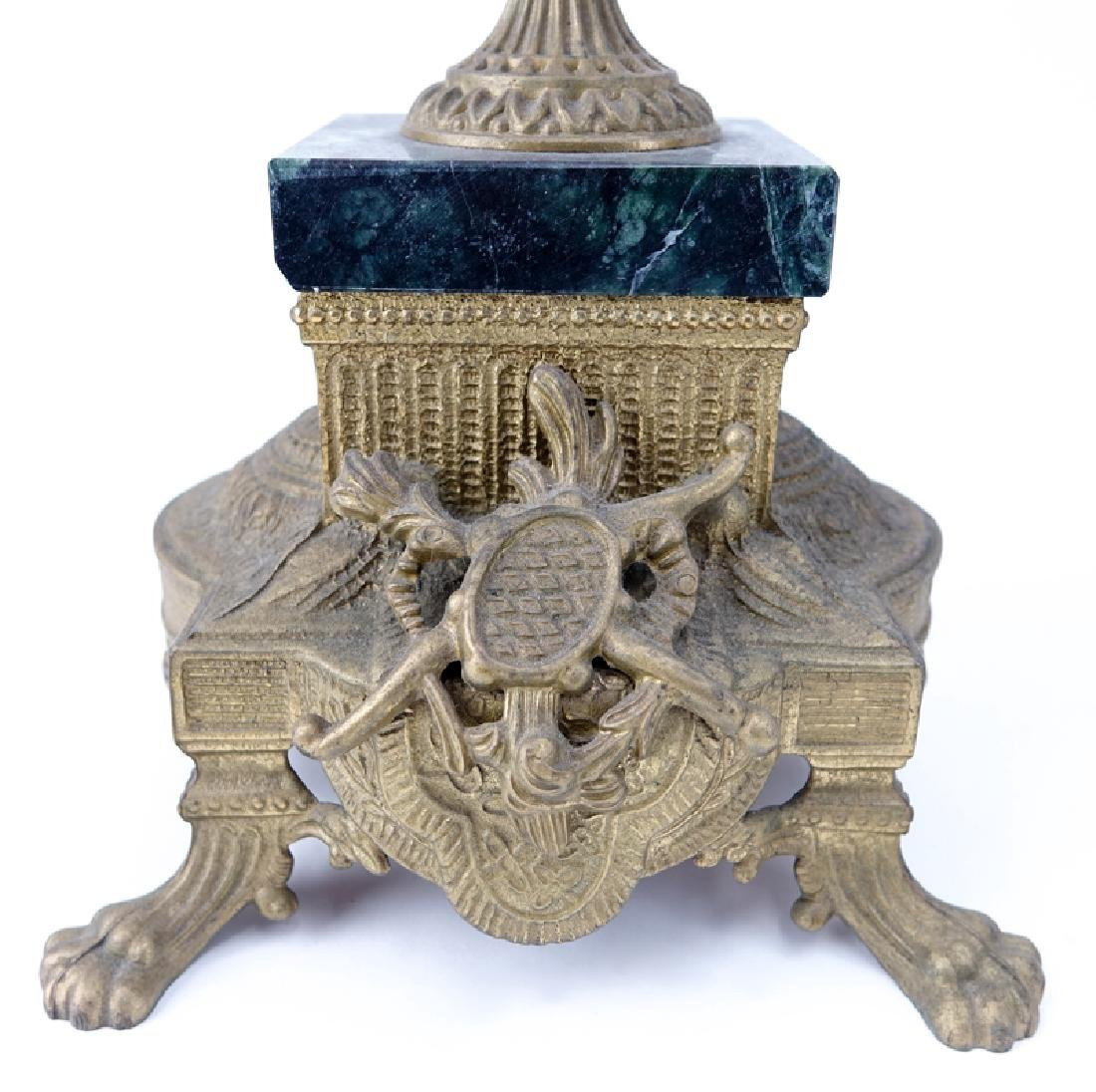 19/20th Century Empire Style Gilt Bronze and Marble - 7