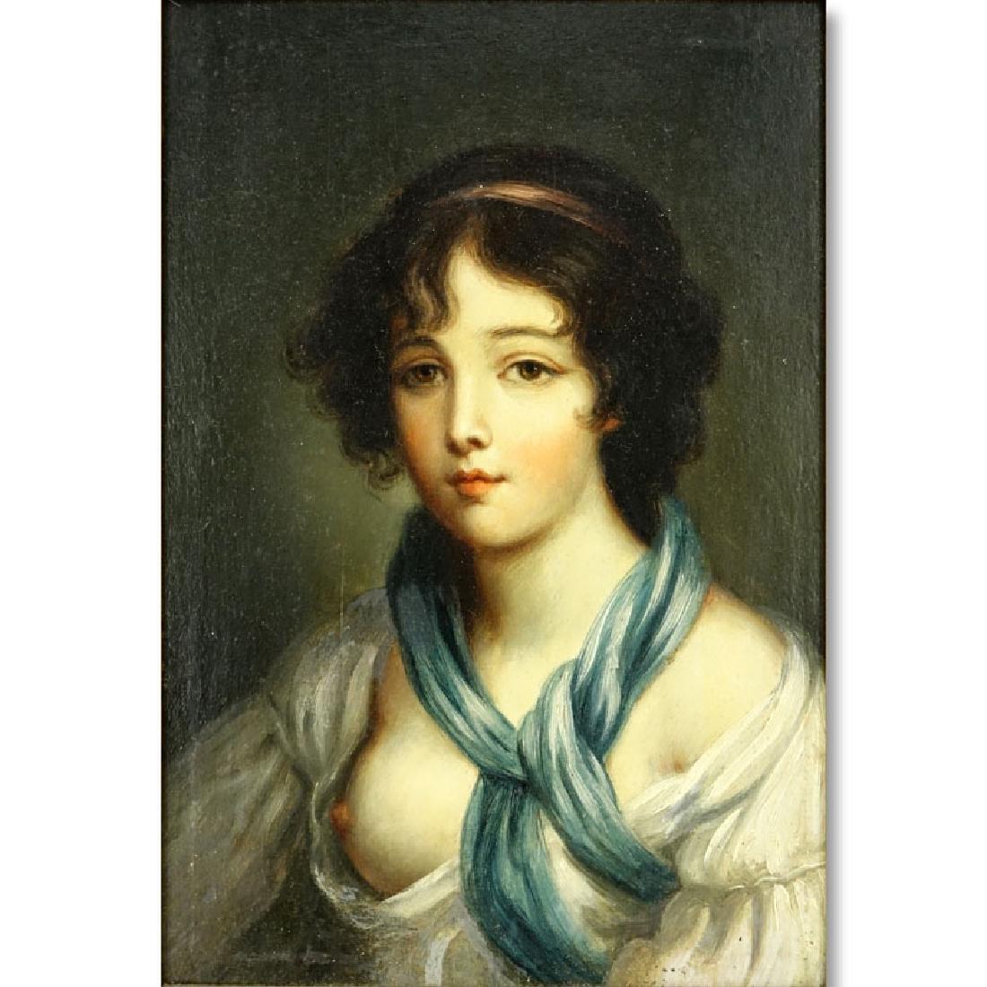 19/20th Century Oil on Panel Old Master Style, Portrait