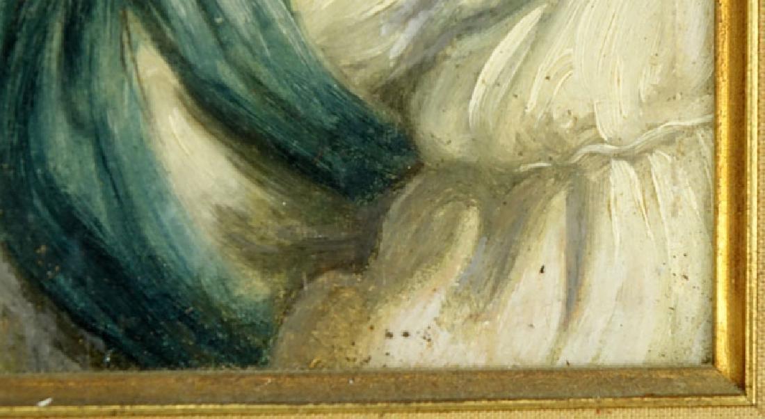 19/20th Century Oil on Panel Old Master Style, Portrait - 3