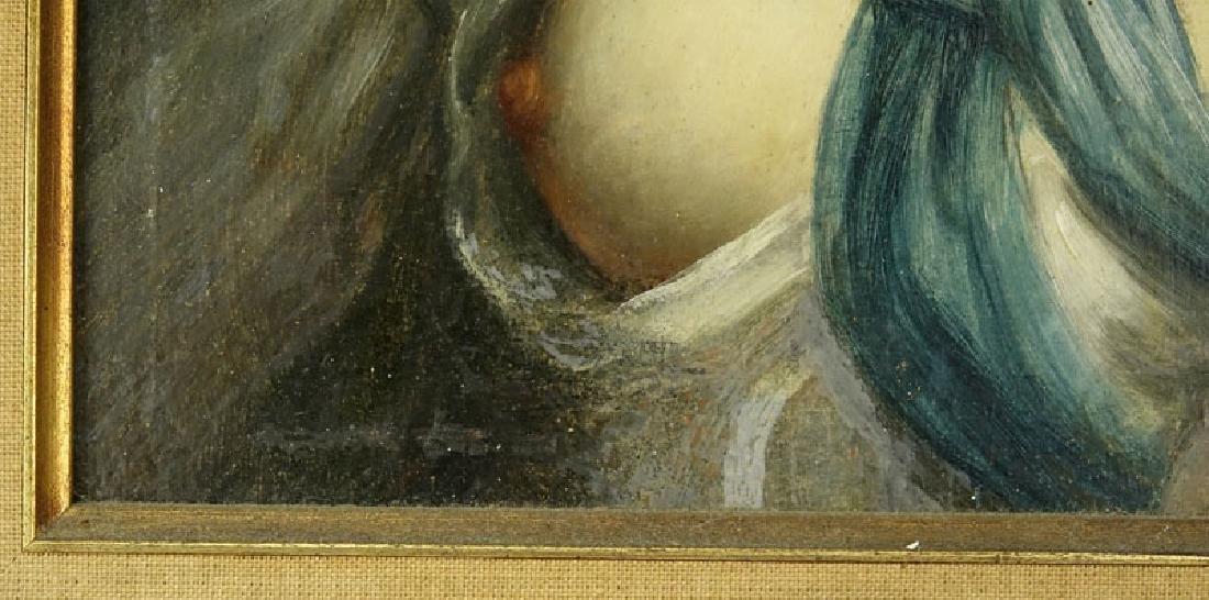 19/20th Century Oil on Panel Old Master Style, Portrait - 4