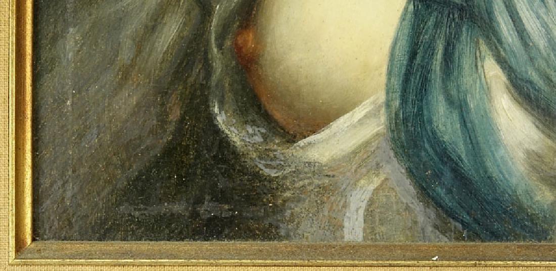 19/20th Century Oil on Panel Old Master Style, Portrait - 5
