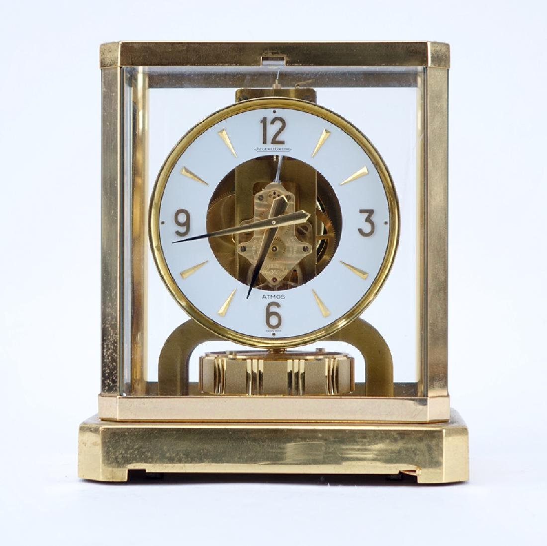 Jaeger LeCoultre Atmos Clock. Inscribed on dial and on