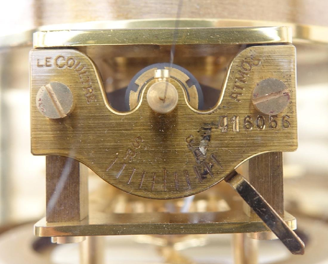Jaeger LeCoultre Atmos Clock. Inscribed on dial and on - 5