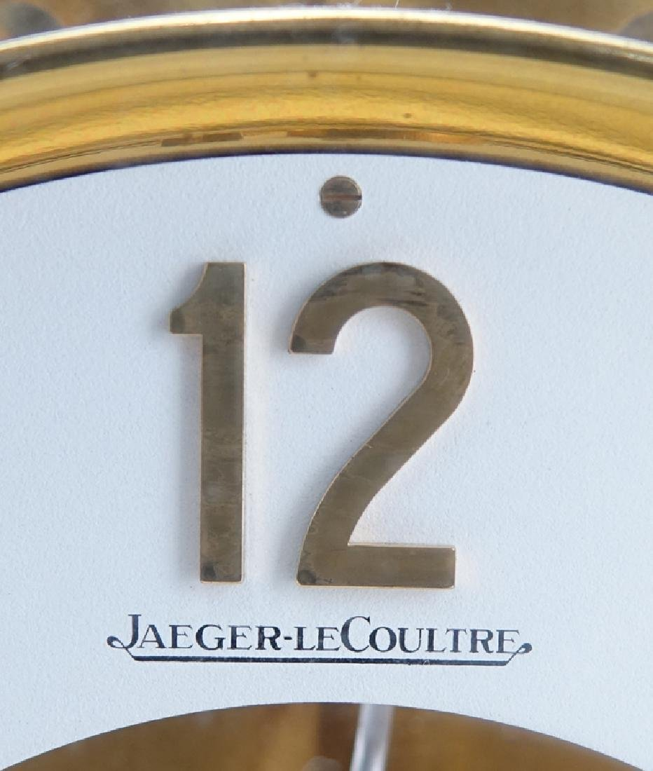 Jaeger LeCoultre Atmos Clock. Inscribed on dial and on - 6