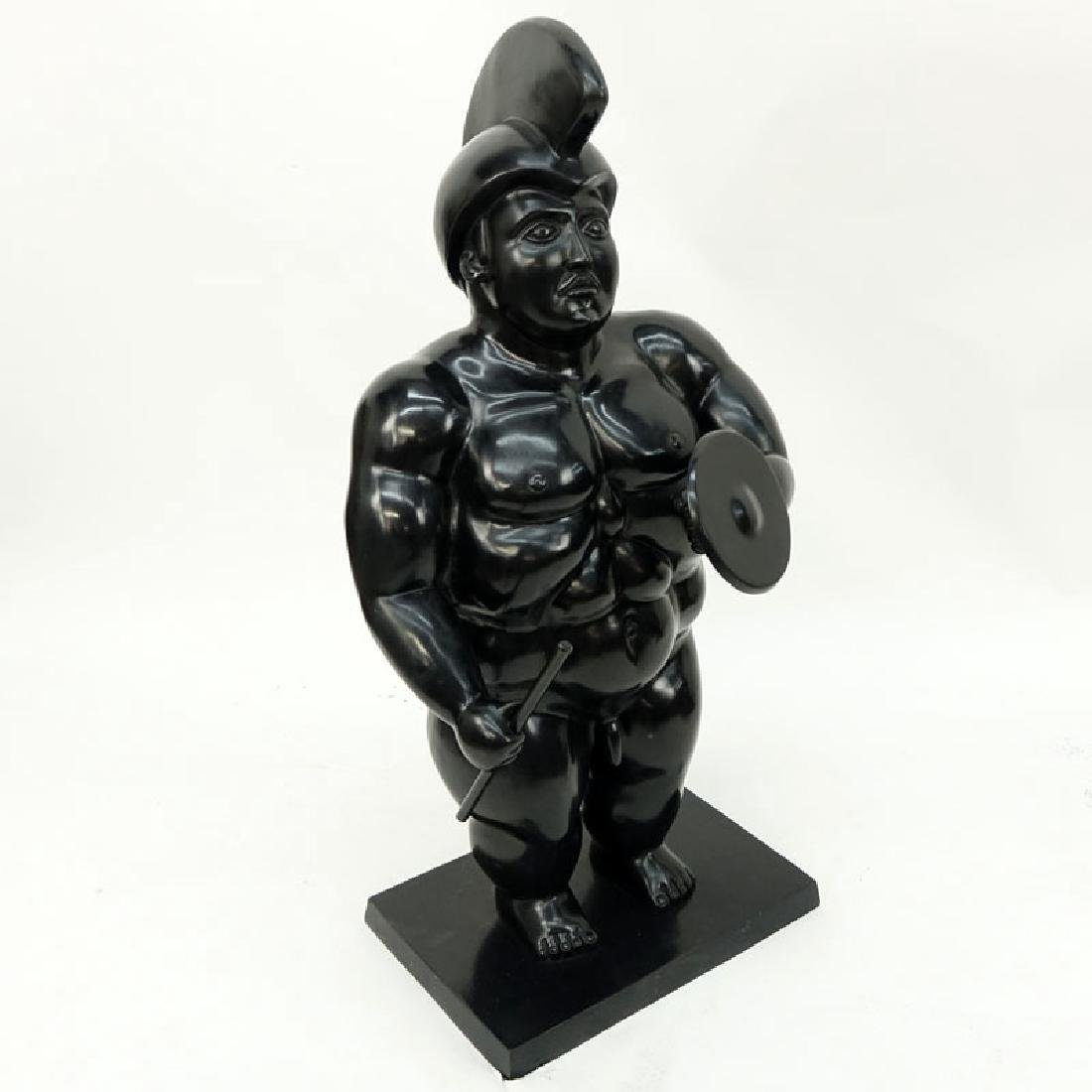 After: Fernando Botero, Colombian (b. 1932) Bronze