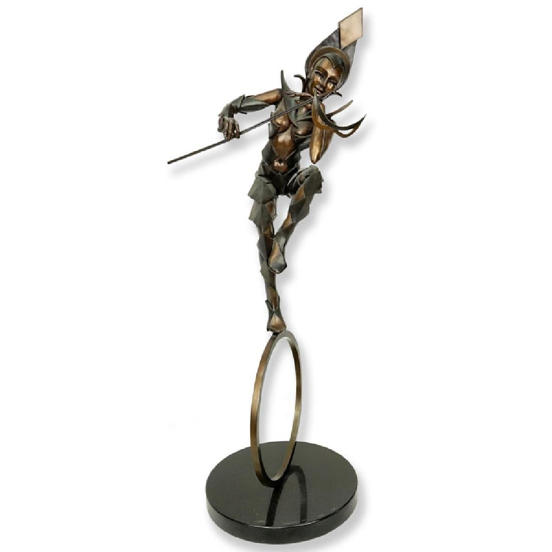 Diane Risa Sher, American (20th C.) Bronze Sculpture