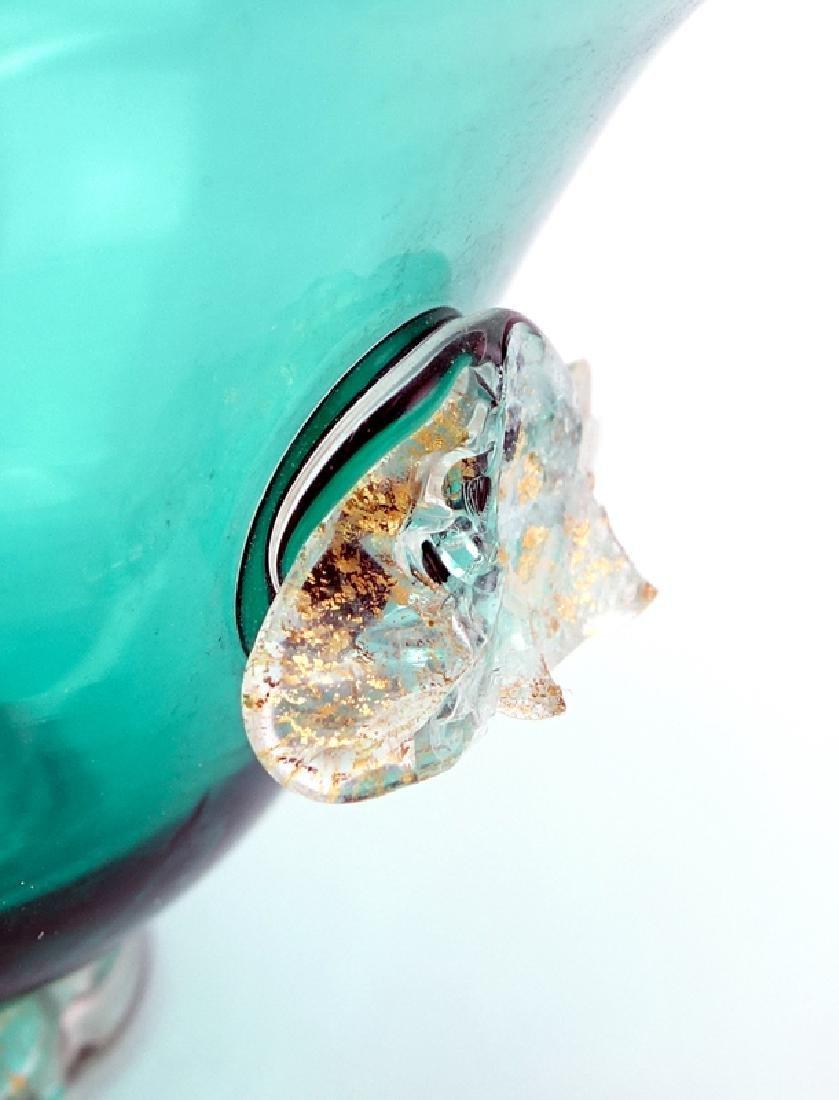 Twelve (12) Hand Blown Venetian Murano Art Glass Footed - 4