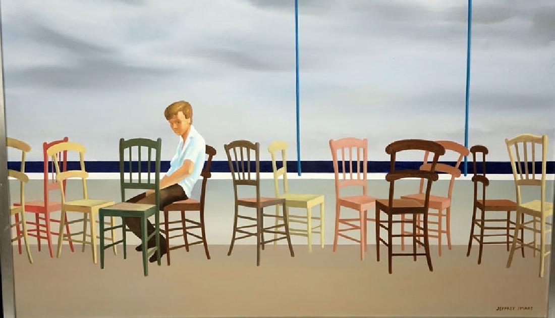After: Jeffrey Smart, Australian (1921-2013) Oil on - 3