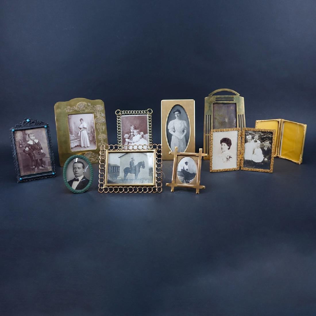 Lot of Ten (10) Decorative Picture Frames. Various
