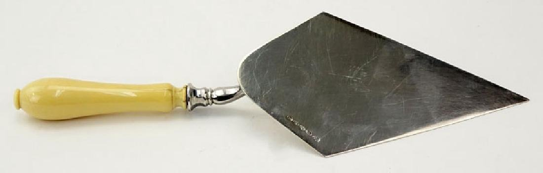Ivory and Sterling Silver Tresmere Commemorative Trowel - 5