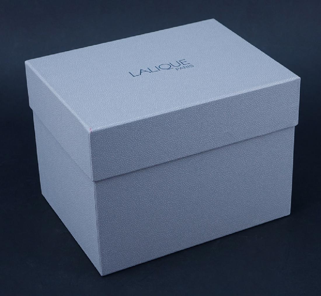 "Lalique Crystal ""Fantasia"" Vase In Box. Signed, - 4"