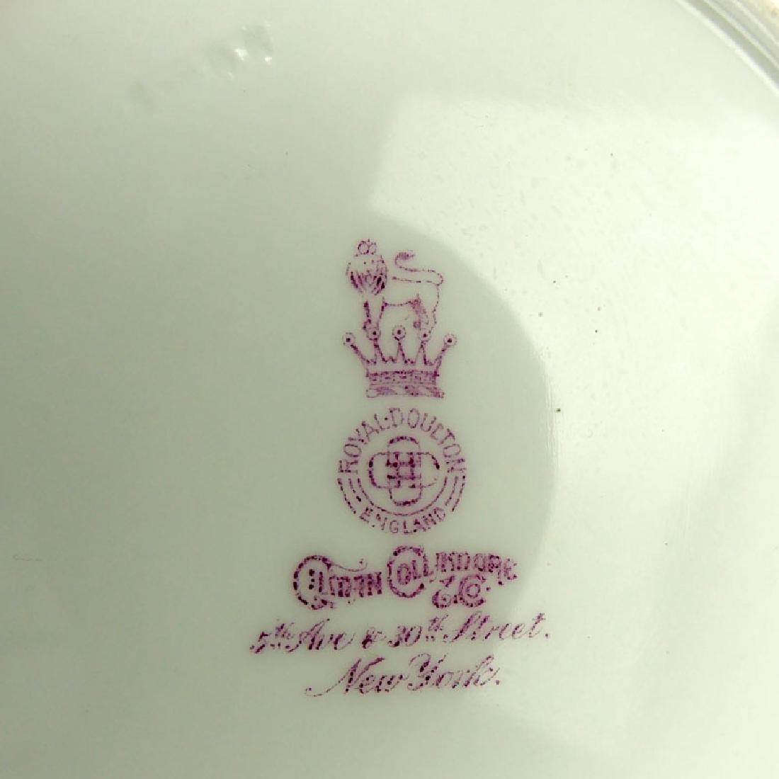 Eight (8) Royal Doulton For Gilman Collamore & Co.,New - 5