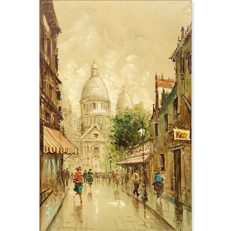 Antonio DeVity, Italian (1901 - 1993) Oil on canvas
