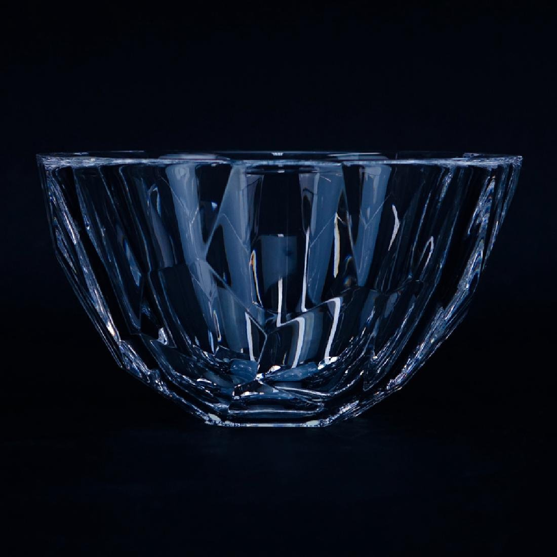 Orrefors Crystal Zenith Bowl. Signed. Good condition.