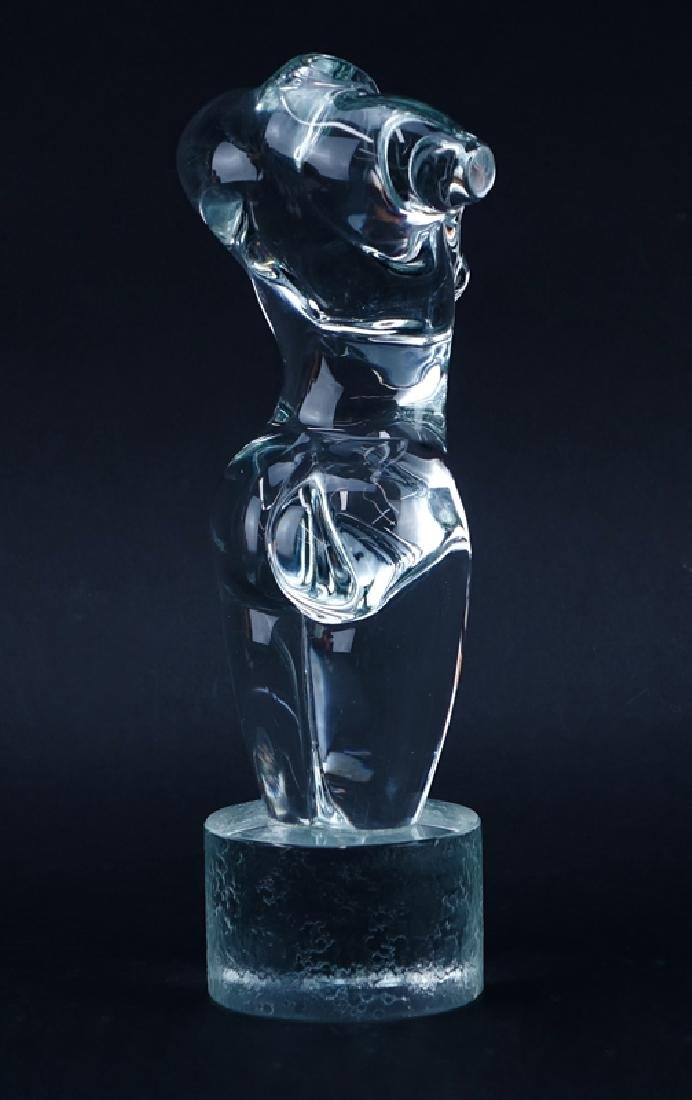 Pino Signoretto, Italian (b. 1944) Glass sculpture - 3