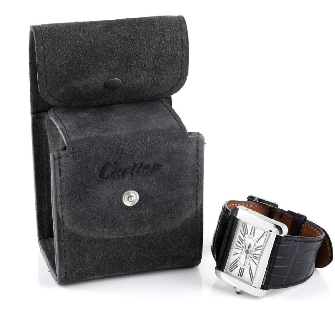 Two (2) Lady's Cartier Watches - 9