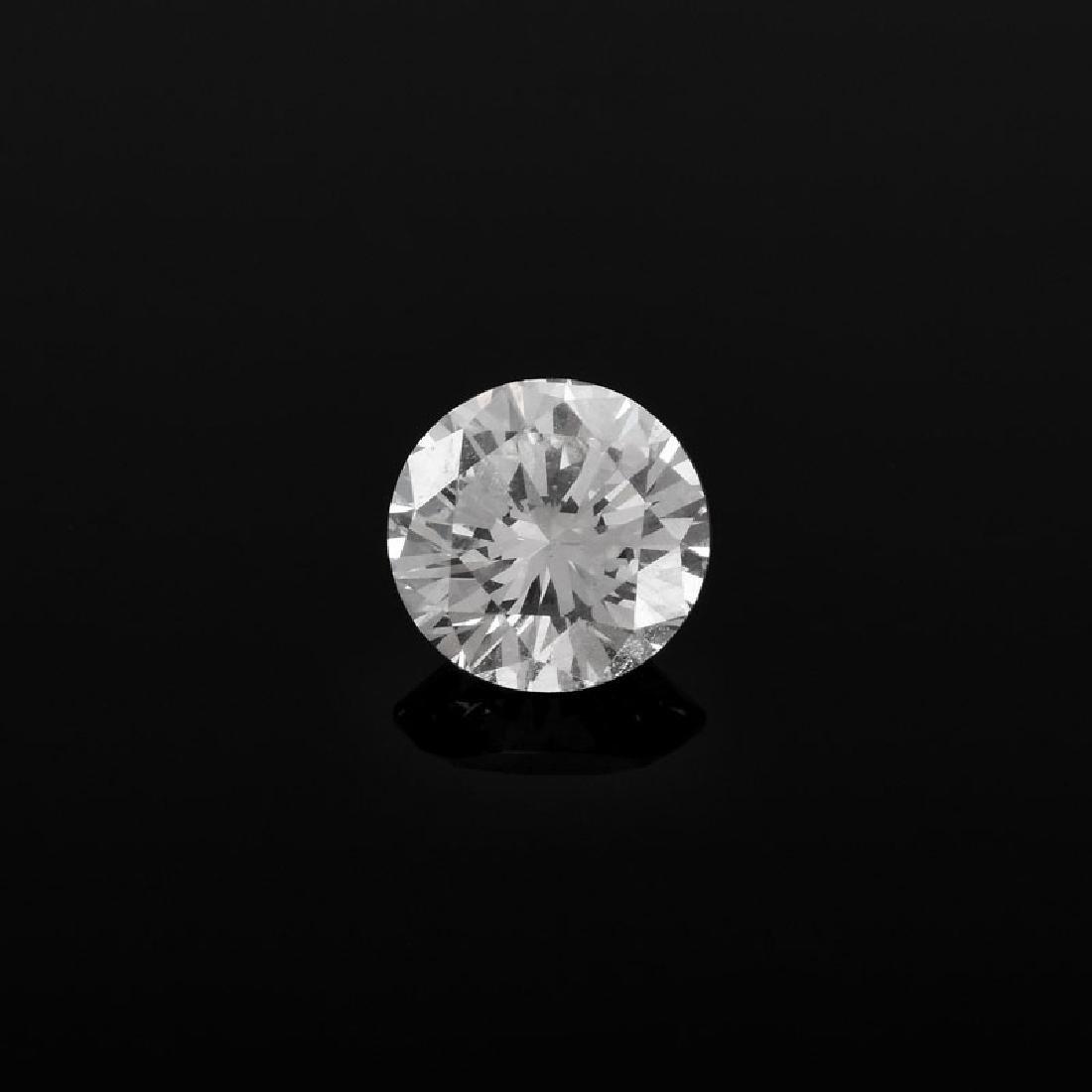 GIA Certified 1.01 Carat Round Brilliant Cut Diamond, H