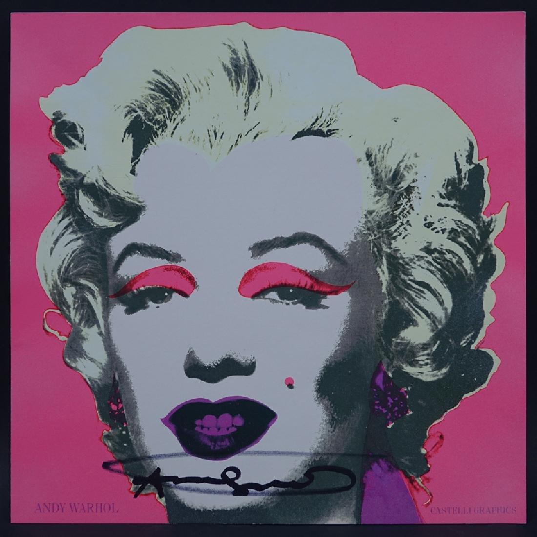 """Andy Warhol, American (1928 - 1987) """"Marilyn 1967"""""""